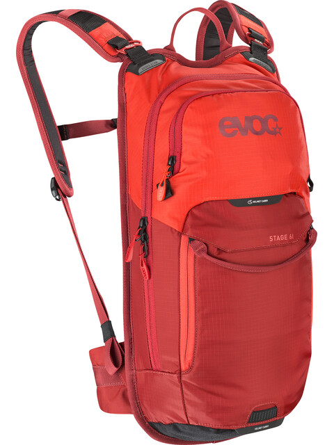 EVOC Stage Technical Performance Pack 6l Orange/Chili Red